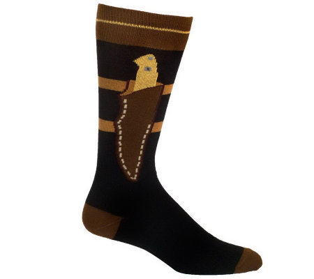 Ozone Design Set of 2 Mens Boot Knife Socks