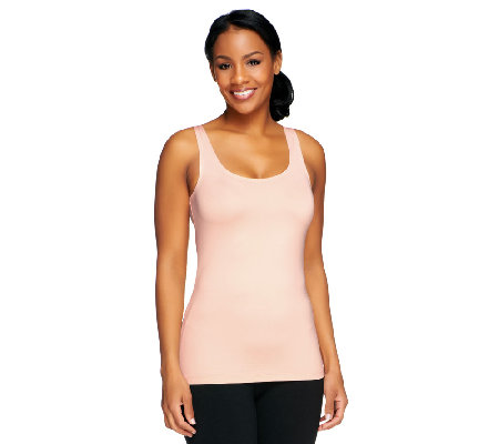 Susan Graver Essentials Scoop Neck Smoothing Tank