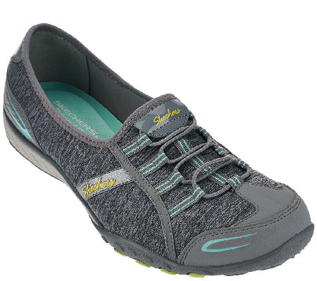 Skechers Heather Jersey Bungee Slip-ons - Good Life