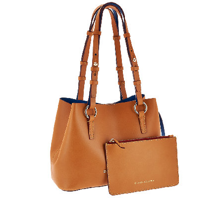 Dooney & Bourke Montecito Leather Small Briana Bag with Pouch