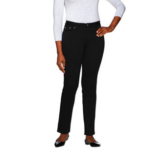 Women with Control Petite Ponte di Roma Pants - A270218