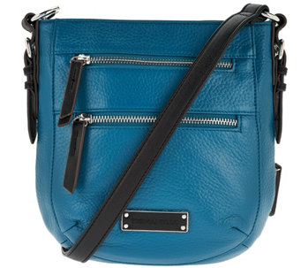 Tignanello Large Grain Pebble Leather RFID Crossbody Bag - A272718