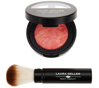 Laura Geller Baked Blush-N- Brighten with Brush - A273418