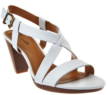 Clarks Leather Multi-strap Sandals - Jaelyn Fog
