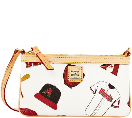 Dooney & Bourke MLB Diamondbacks Large Slim Wristlet