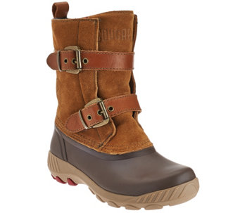 """As Is"" Cougar Waterproof Suede Duck Boots - Maple Creek - A281018"