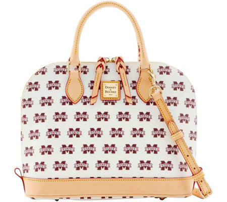 Dooney & Bourke NCAA Mississippi State Zip Zip Satchel