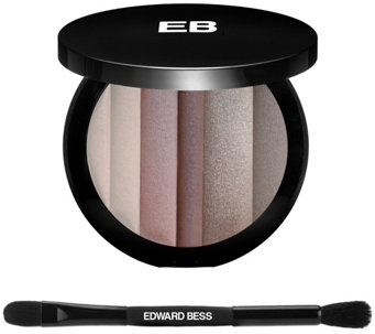 Edward Bess Earth Tones Natural Shadow Palette w/ Brush - A285118
