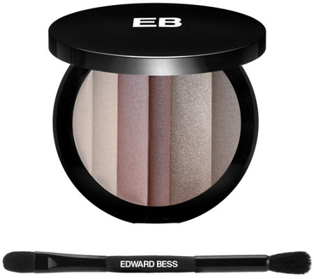 Edward Bess Earth Tones Natural Shadow Palette w/ Brush