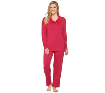 """As Is"" Carole Hochman French Terry Pajama Set - A285318"
