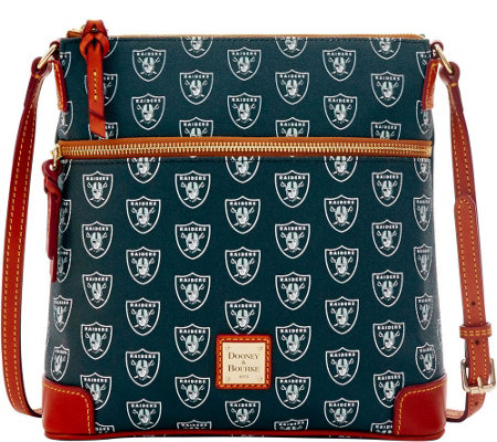 Dooney & Bourke NFL Raiders Crossbody