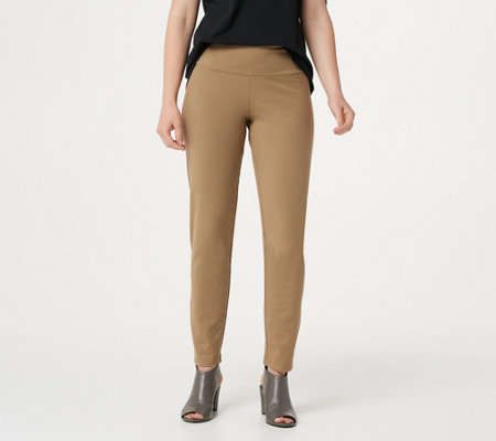 Women with Control Regular Tummy Control Ankle Pants