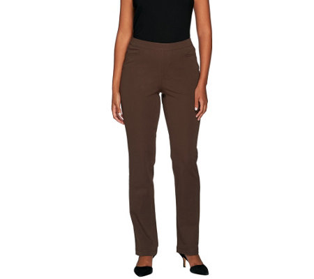 """As Is"" Liz Claiborne New York Petite Jackie Bi- Stretch Pants"