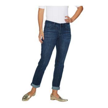Hot in Hollywood Classic Denim Boyfriend Jeans