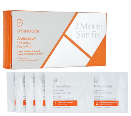 Dr. Gross Antiaging Alpha Beta Original Daily Peel 5-pack