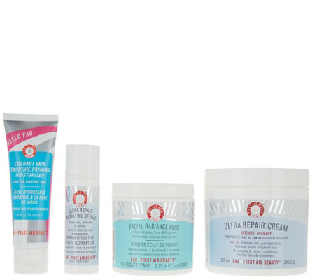 First Aid Beauty Hello Hydration UltraRepair 4pc Auto-Delivery