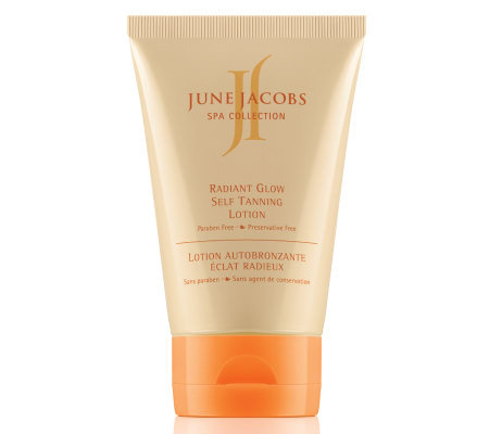 June Jacobs Radiant Glow Self Tanning Lotion, 3.8oz