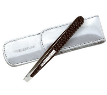 Tweezerman Luxe Edition Crystal Slant Tweezers - A316918