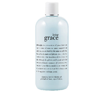 philosophy living grace shower gel, 16 oz - A332818