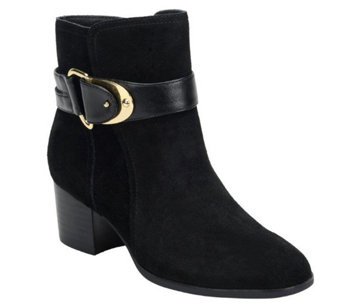 Sofft Suede Ankle Boots - Nadra - A355518