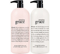 philosophy super-size fragrance 3-in-1 gel & body lotion duo - A16619