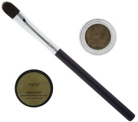 tarte Amazonian Clay Waterproof Cream Shadow Pot with Brush