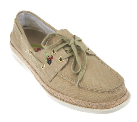 Margaritaville Cay Classic Rope Boat Shoes