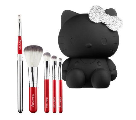 Hello Kitty Noir Black Brush Set Limited Edition