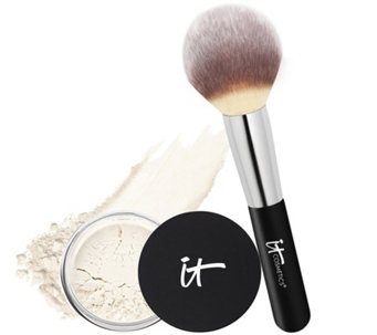 IT Cosmetics Bye Bye Pores HD Illuminator with Wand Ball Brush - A223319