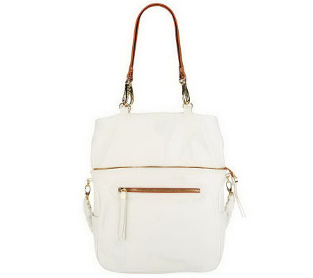 """As Is"" UnderCover Maureen Hobo with Braided Handle"