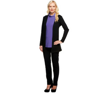 Women with Control 3-Piece Set w/ Jacket, Top & Pants - A238419