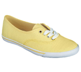 Liz Claiborne New York Lace Up Classic Canvas Sneakers - A252619