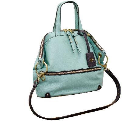 orYANY Nikki Italian Leather Satchel