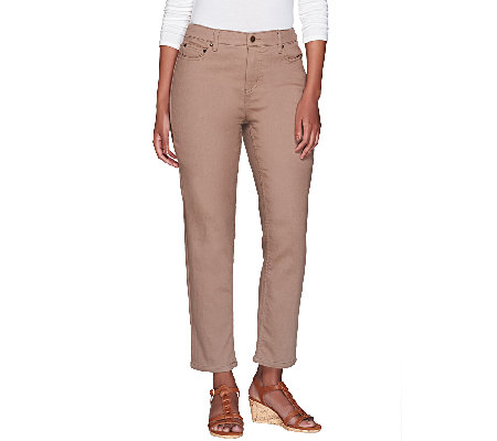 Liz Claiborne New York Jackie Ankle Length Jeans