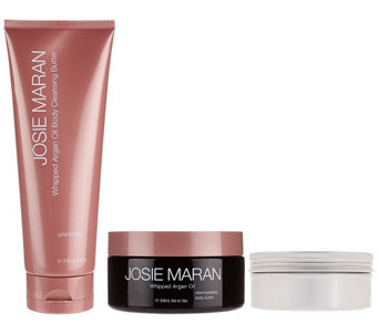 Josie Maran Argan Bath & Body Beautifying Trio Collection - A267019