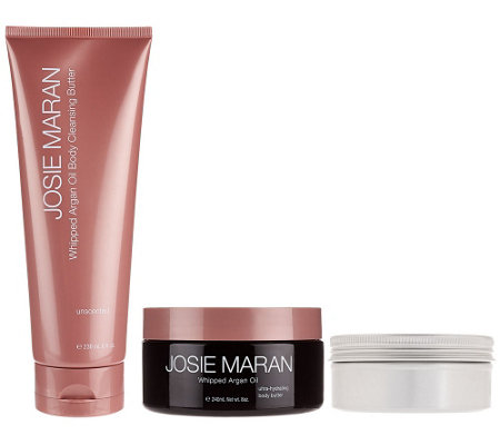 Josie Maran Argan Bath & Body Beautifying Trio Collection