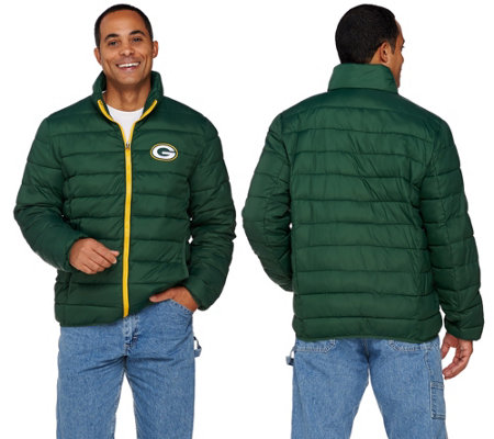 NFL Packable Down Quilted Jacket