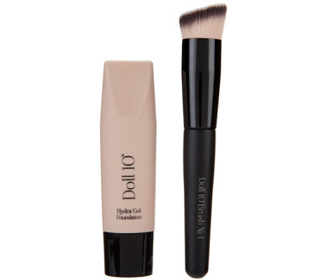 Doll 10 HydraGel Foundation with Brush Auto-Delivery