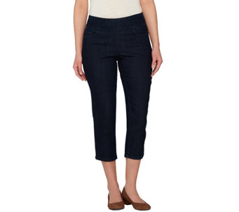 "Denim & Co. ""How Smooth"" Crop Pants - A274319"