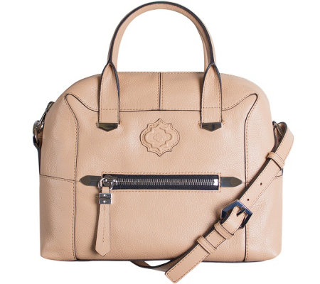 orYANY Pebble Leather Satchel - London