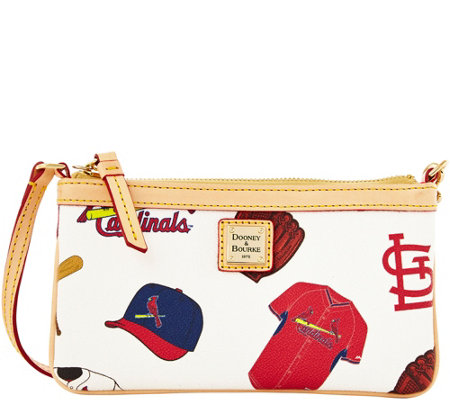 Dooney & Bourke MLB Cardinals Large Slim Wristlet