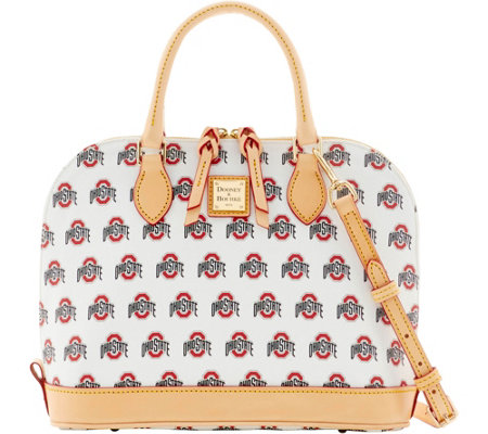 Dooney & Bourke NCAA Ohio State University Zip Zip Satchel