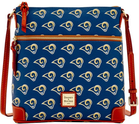 Dooney & Bourke NFL Rams Crossbody