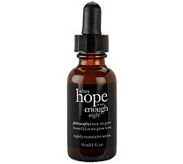 philosophy when hope is not enough night serum, 1 fl oz - A286019