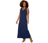 Belle by Kim Gravel Essentials Reversible Tank Maxi Dress - A289019