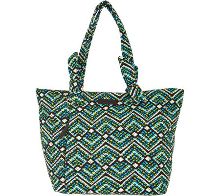 """As Is"" Vera Bradley Signature Print Hadley E/W Shopper"