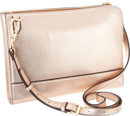 """As Is"" G.I.L.I Convertible Crossbody Pouch"