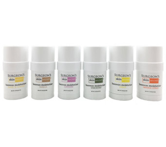 Surgeon's Skin Secret Set of 6 Scented Moisturizers - A319319