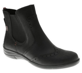 Spring Step Yale Nubuck Ankle Boots - A329919