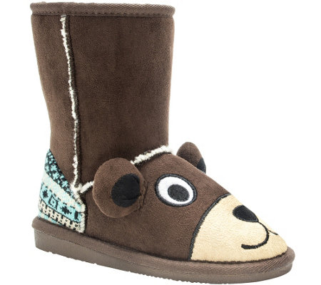 MUK LUKS Kids' Teddy Bear Boots